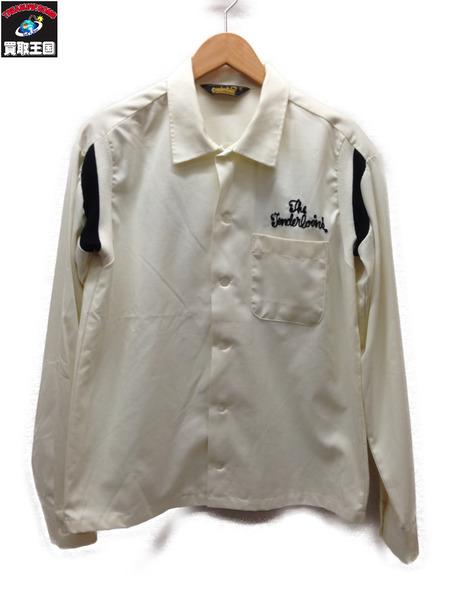 TENDERLOIN 刺繍ボーリングシャツ (S) ホワイト【中古】