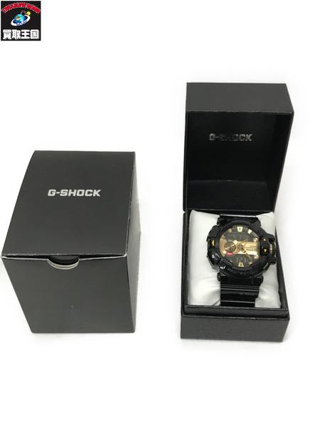 CASIO G-SHOCK GBA-400 カシオ ジーショック 腕時計 ブラック×ゴールド【中古】