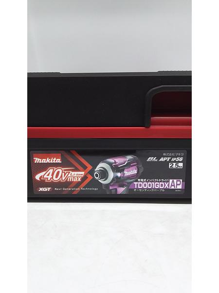 未使用品 makita 40V充電式インパクトドライバ TD001GDXAP【中古】[▼]