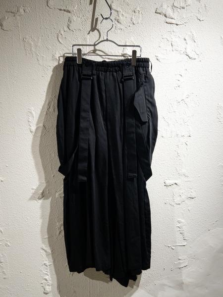 Yohji Yamamoto Pour Homme/20ss/キュプラバルーンパンツ/2/ブラック【中古】