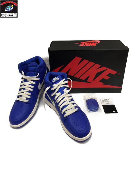 NIKE AIR JORDAN1 RETRO HIGH OG HYPER ROYAL 28.5 555088-401 ブルー【中古】[▼]