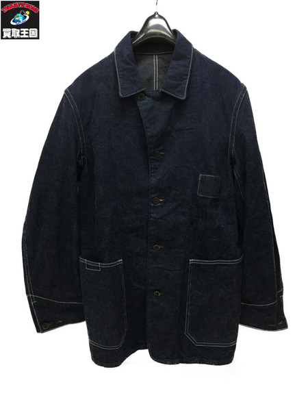 THE FRANKLIN TAILORED DENIME COVERALL JACKET (4) 濃紺【中古】[▼]