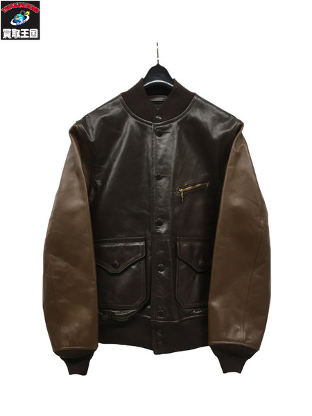RRL Meyers Leather Jacket/カウハイド(M)【中古】[▼]
