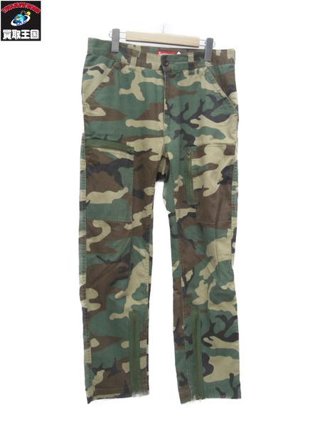 Supreme military fight cargo pants 迷彩カーゴパンツ (30)【中古】