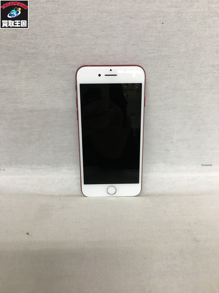 au_iPhone7 256GB RED【中古】[▼]