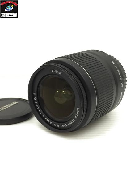 キャノン EF-S 18-55mm F3.5-5.6 IS STM 標準ズームレンズ【中古】