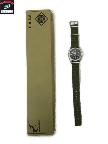GSX100UMB-3 BIOHAZARD バイオハザード 腕時計 カーキ【中古】[▼]