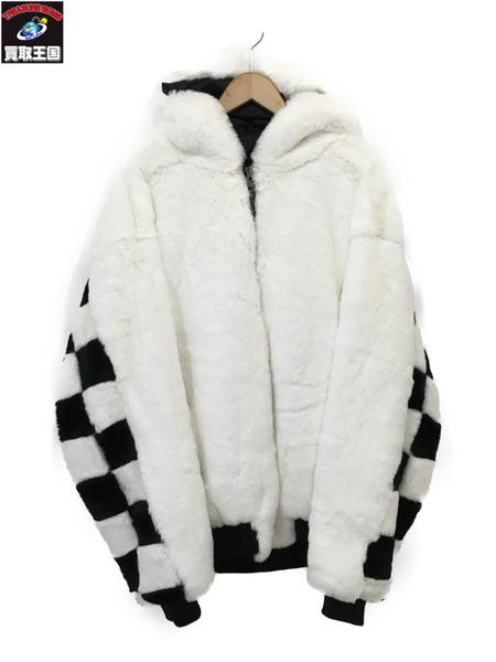 DANKE SCHON 18AW Checker Fur Blouson (F) 18A-BSL012-DS【中古】[▼]