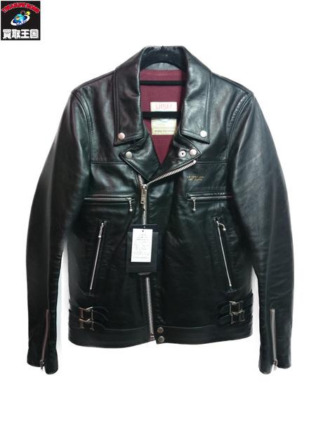 UNDERCOVER レザーライダースジャケット サイズ1 UCA4201【中古】