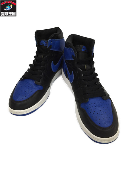 NIKE AIR JORDAN 1 RETRO HIGH OG ROYAL size26.5【中古】[▼]