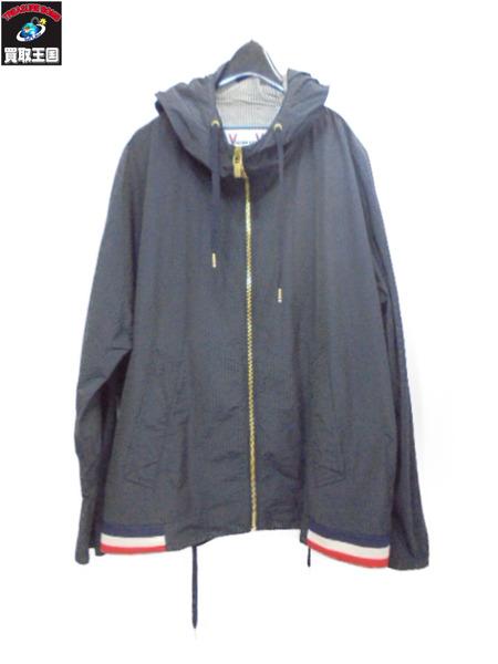 MONCLER GAMME BLEU ナイロンジップアップジャケット サイズ1【中古】
