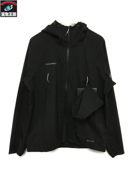 Mammut/Convey TOUR HS Hooded Jacket/asiaM/黒【中古】[▼]