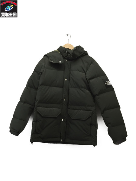 THE NORTH FACE CAMP Sierra Short DOWN JACKET (M) GREEN【中古】