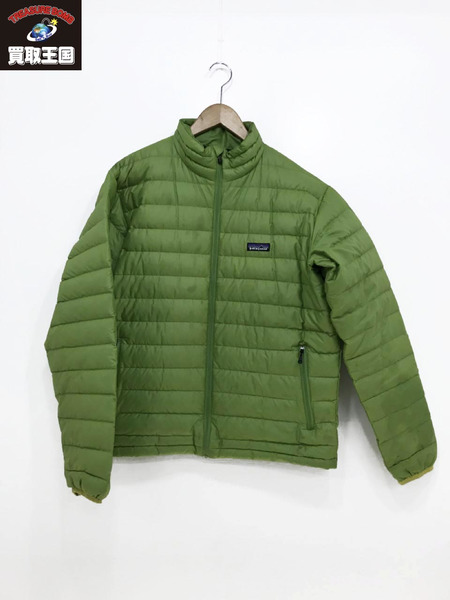 patagonia M's Down Sweater ダウンセーター M 緑 84673【中古】