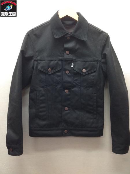 Levi's FILSON USA製 ワックスコットン トラッカージャケット (XS) ブラック【中古】