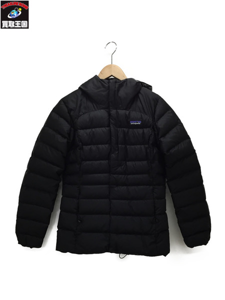 patagonia ハイロフトダウンジャケット 黒 XS【中古】