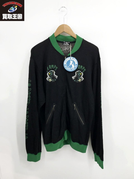 HYSTERIC GLAMOUR/THE CRAMPS HUMAN FLY/M/ブラック【中古】
