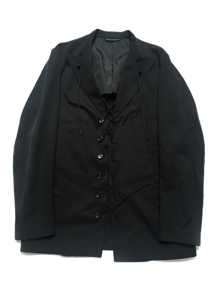 Yohji Yamamoto POUR HOMME/ロープデザインジャケット/2【中古】[▼]