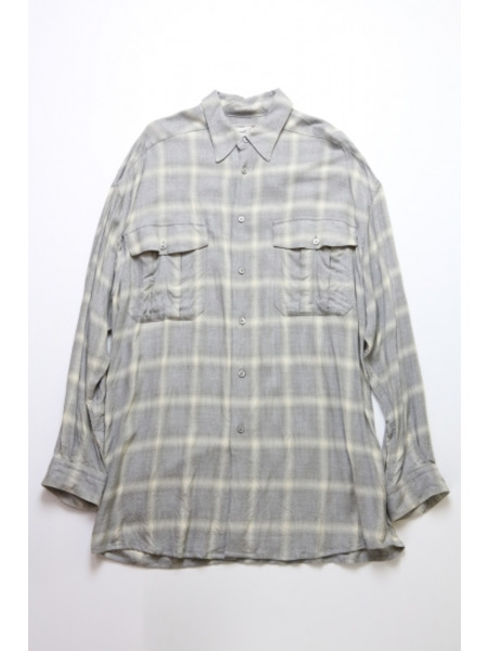 gourmet Jeans gourmet/レーヨンチェックシャツ/2【中古】[▼], 胆沢町:e88e7bb4 --- finfoundation.org