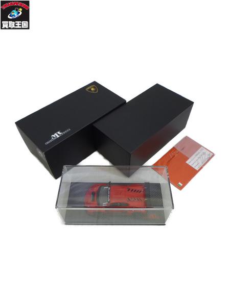 MRコレクション 1/43 ランボルギーニ ウラカン GT3 ロッソ・ビア カーボンベース ラクーン特注【中古】