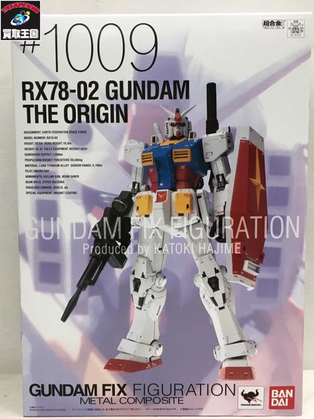 RX78-02 ガンダムTHE ORIGIN GUNDAMFIX FIGURATION METALCOMPOSITE【中古】