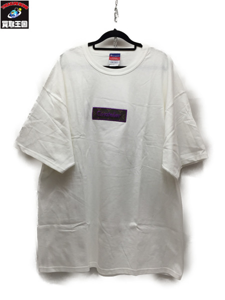 Civiatelier S/S Box Logo Tee White XL【中古】
