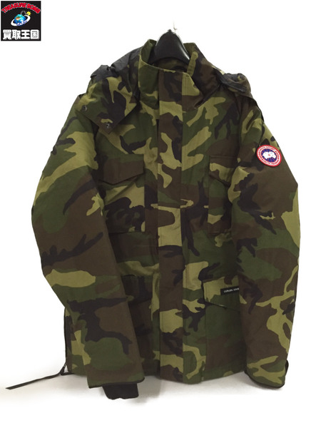 CANADA GOOSE CONSTABLE PARKA カモ (M/M)【中古】