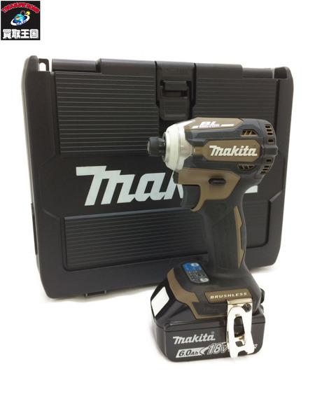 マキタ 充電式インパクトドライバ TD171DGXAB 54042 オーセンティックブラウン【中古】
