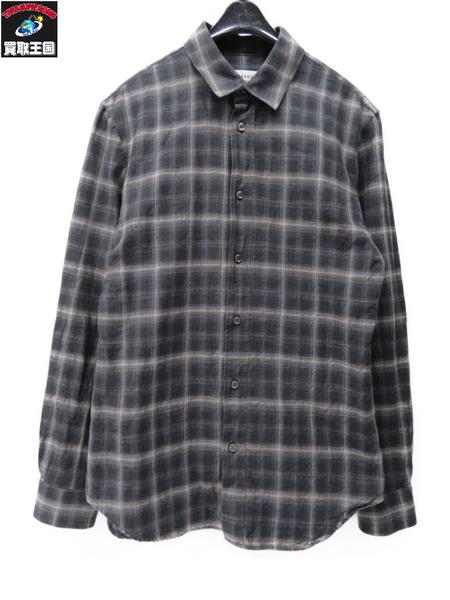 MARTIN MARGIELA ? L/S チェックシャツ サイズ:46【中古】