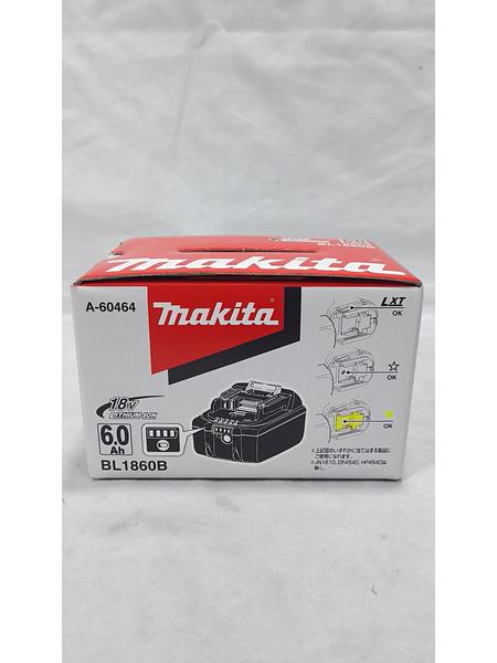 makita 18V6.0Ahリチウムイオンバッテリ BL1860B 未使用品【中古】