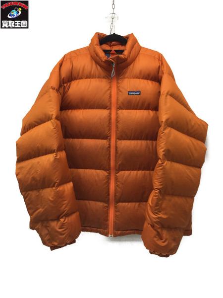 patagonia パタゴニア パッカブルダウンジャケット オレンジ XL【中古】