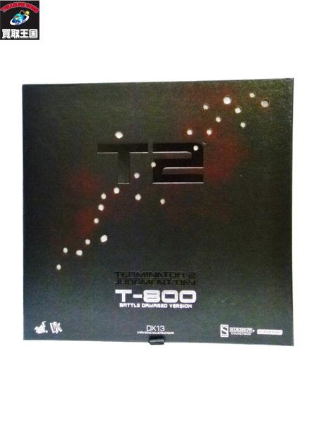 HOTTOYS T-800 DX13 バトルダメージver ターミネーター ホットトイズ T2 未使用【中古】[値下]