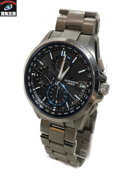 CASIO OCAENUS CASIO 0CW-T2600 0CW-T2600 腕時計【中古】, ヤエヤマグン:77216d63 --- officewill.xsrv.jp