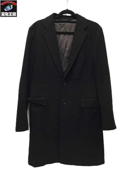 UNITED ARROWS green label relaxing×Loro Piana STORM/S チェスター BLK【中古】