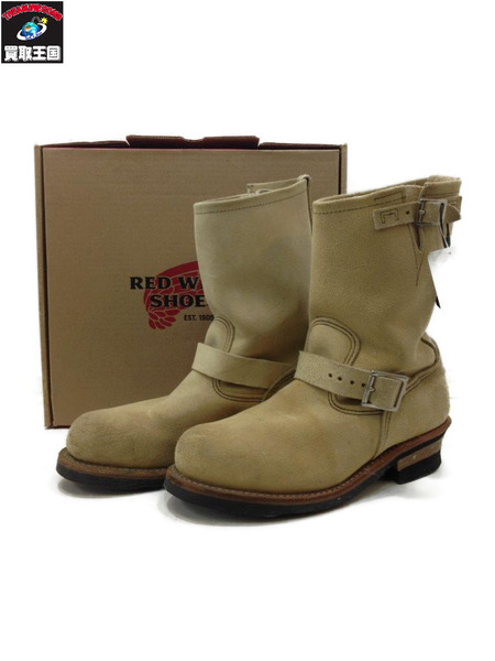 RED WING Engineer Boots スエード (SIZE:26.5cm)【中古】[▼]
