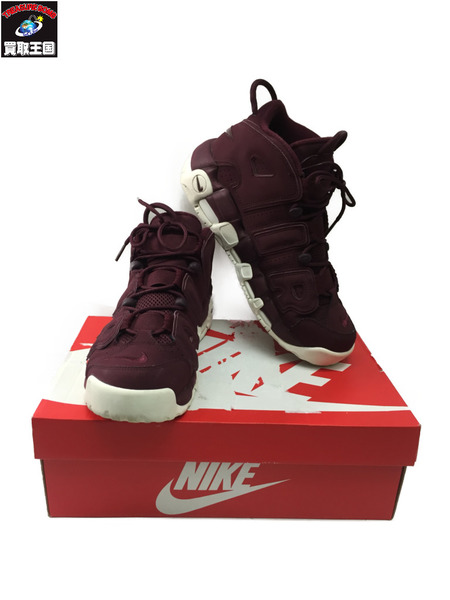 NIKE AIR MORE UPTEMPO BORDEAUX NIGHT MAROON 96 QS Size26.5cm【中古】[▼]
