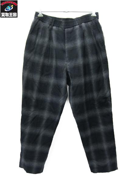 N.HOOLYWOOD Easy Pants BK Check 40【中古】[▼]