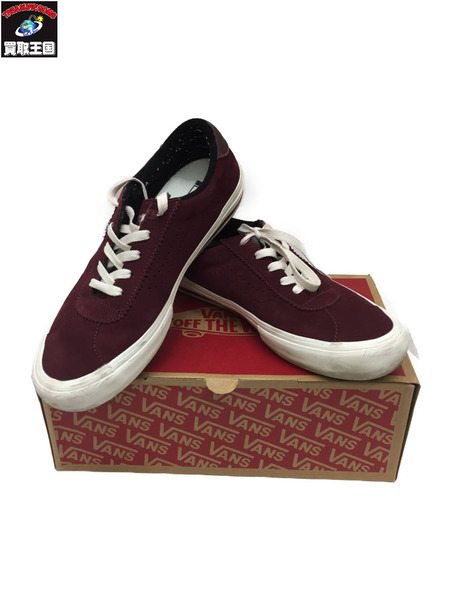 VANS×Yardsale Epoch Pro LTD Burgundy 28.0cm ワイン色 【中古】[▼]