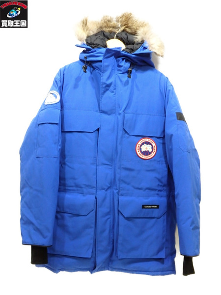 CANADA GOOSE PBI EXPEDITION PARKA  S カナダグース 青 ブルー【中古】