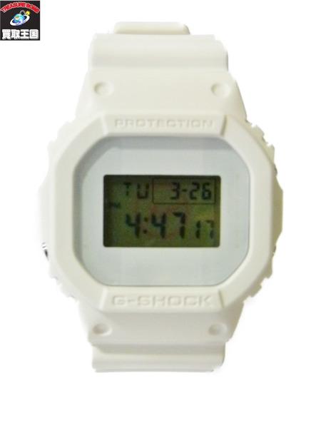 G-SHOCK Ron Herman FRAGMENT GW-5600VT ジーショック ロンハーマン フラグメント 白 ホワイト 腕時計【中古】