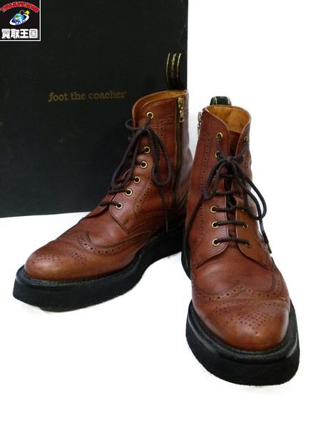 foot the coacher W.W. ラバーソールウイング 8 フットザコーチャー 26cm【中古】
