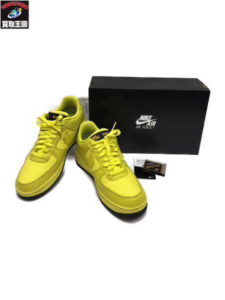 NIKE AIR FORCE 1 GORE-TEX dynamic yellow/black size26.0cm【中古】[▼]