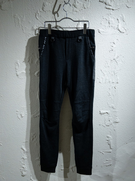 SUNSEA/17AW/Micro Thermal Knit Flea Market Pants/2【中古】