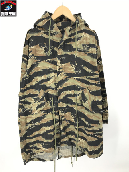 APPLEBUM Bleed Tiger Camo Army Coat Tiger Camo (L)【中古】