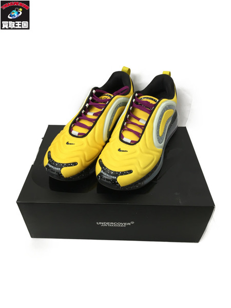 NIKE UNDERCOVER AIR MAX 720 28.5 YELLOW【中古】