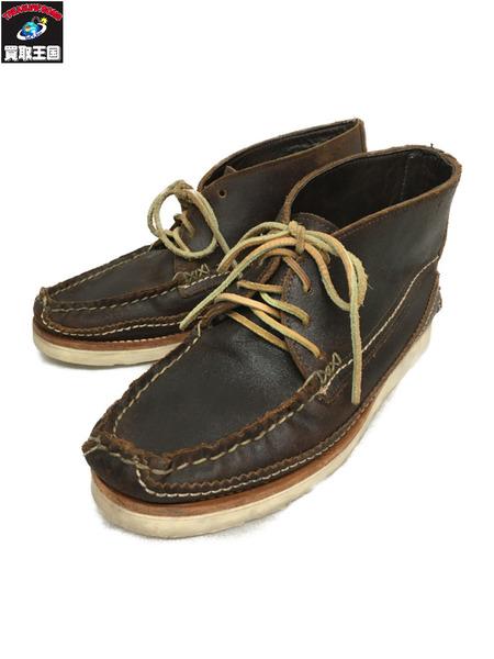 YUKETEN ブーツ ヴィブラムソール(アウトソール29.5cm)ブラウン【中古】
