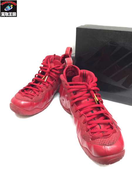 NIKE AIR FOAMPOSITE PRO GYM RED 29.0 624041-603 ナイキ エア フォームポジット プロ ジムレッド【中古】