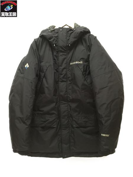 mont-bell パウダーランド パーカ ダウンジャケット #1101443 SizeS BLK【中古】