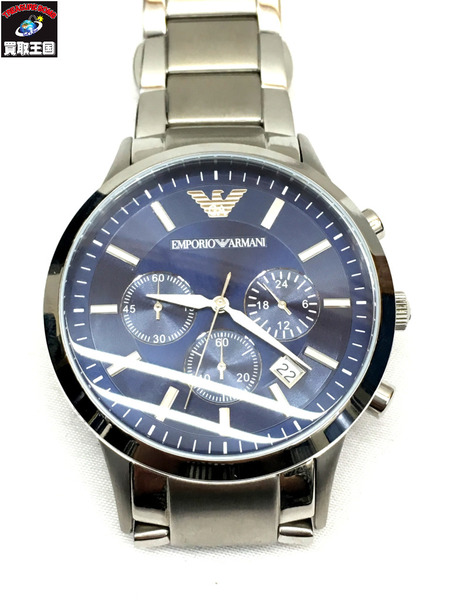 EMPORIO ARMANI/エンポリオアルマーニ/メンズ腕時計/レナト/クロノグラフ/ウォッチ/AR2448【中古】