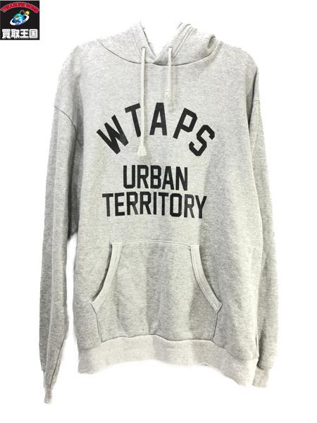 【ついに再販開始!】 WTAPS Urban Territory/プルオーバーパーカー(02) グレー ダブルタップス【】, ミカヅキチョウ 62e0aa24